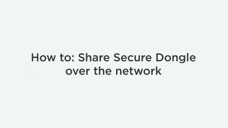 How To Share USB Dongle Over Ethernet